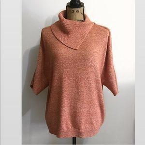 CABI- Fold Over Sweater